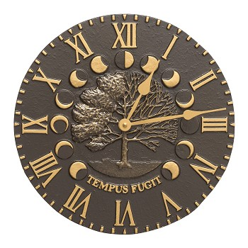 Time & Seasons Indoor/Outdoor Wall Clock
