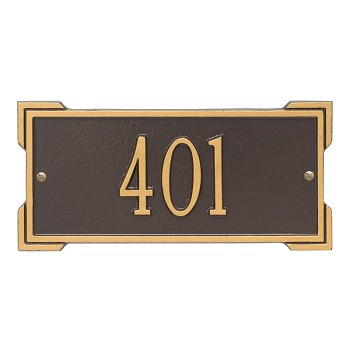 Roanoke Address Plaque Mini