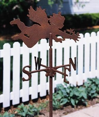 Cherub Garden Weather Vane